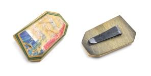 G-Flat Medium Brooch Clip