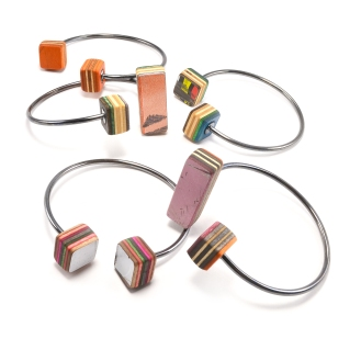 Line + Cube Combo Cuffs