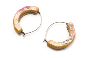 Small Round Cut Arc Hoops