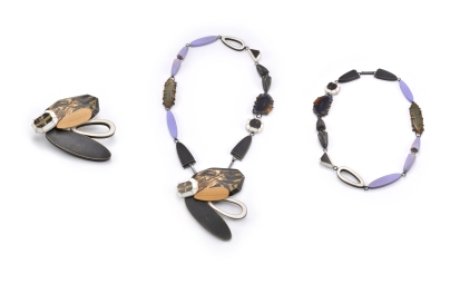 UrA:SXII Brooch Necklace